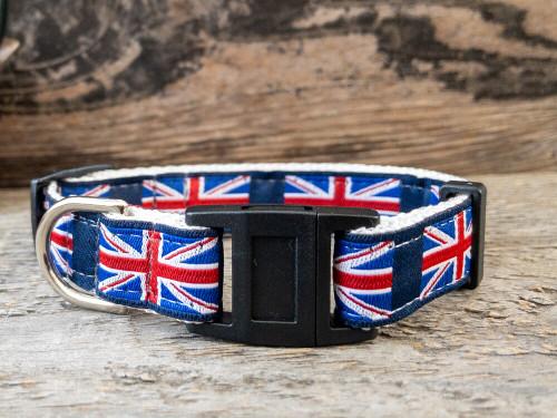 London Calling cat collar by www.diva-dog.com
