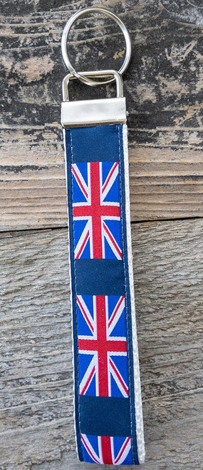 London Calling wristlet keychain by www.diva-dog.com