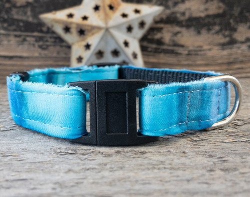 Bahama Blues cat collar by www.diva-dog.com