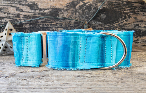 Bahama Blues wide martingale by www.diva-dog.com