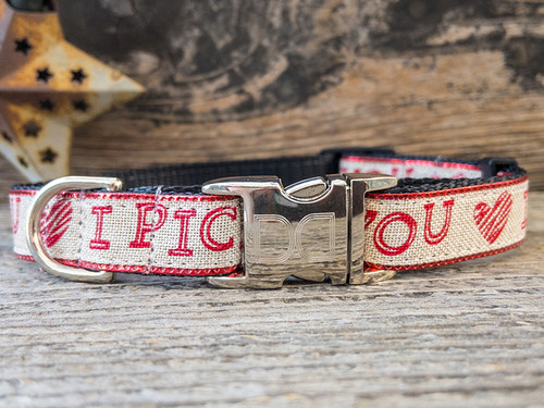 I Picked You Dog Collar by www.diva-dog.com