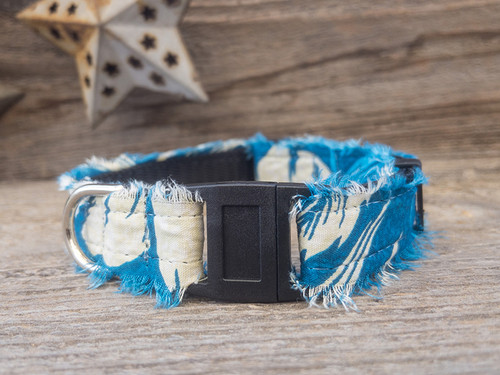 Aloha Kitty cat collar by Diva Dog and Surf Cat