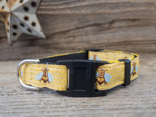 Honey Bee cat collars by Diva Dog and Surf Cat