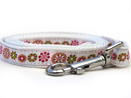 Winter Garden Dog Leash - by Diva-Dog.com