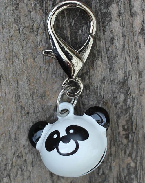 Panda Jingle Dog Collar Charm - by Diva-Dog.com
