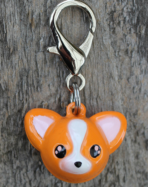 Jingle Chihuahua Dog Collar Charm - by Diva-Dog.com