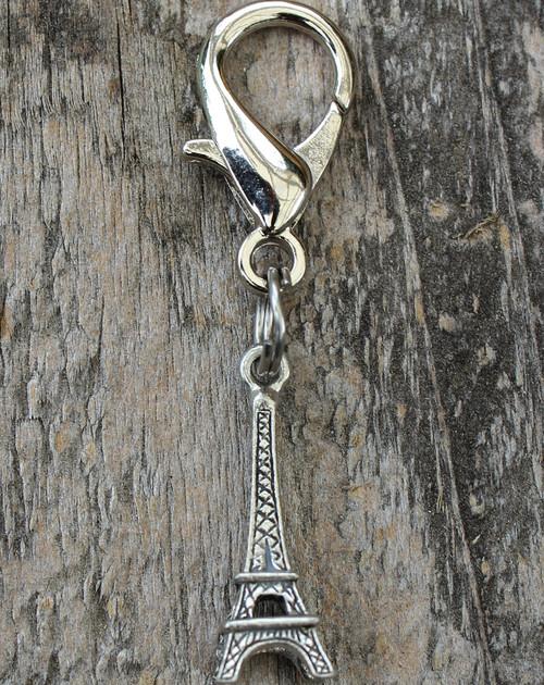 Eiffel Tower dog collar Charm - by Diva-Dog.com