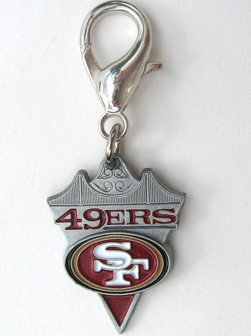 San Francisco 49'ers Charm - by Diva-Dog.com