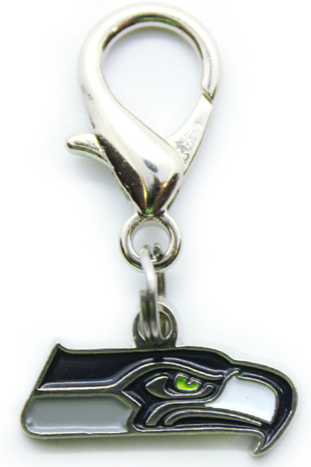 Seattle Seahawks Logo Charm - by Diva-Dog.com