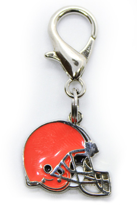 Cleveland Browns Logo Dog Collar Charm - by Diva-Dog.com