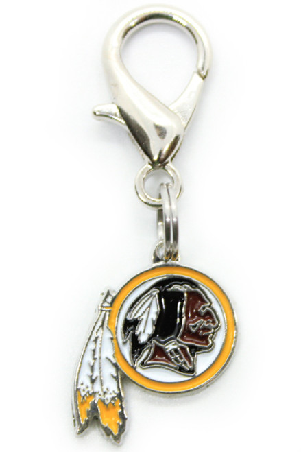 Washington Redskins Logo Dog Collar Charm - by Diva-Dog.com