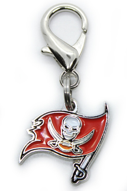 Tampa Bay Buccaneers Logo Charm - by Diva-Dog.com