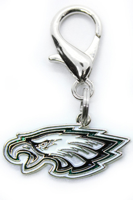 Philadelphia Eagles Logo Dog Collar Charm - by Diva-Dog.com