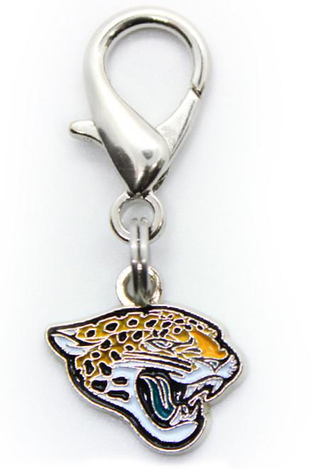 Jacksonville Jaguars Logo Dog Collar Charm - by Diva-Dog.com