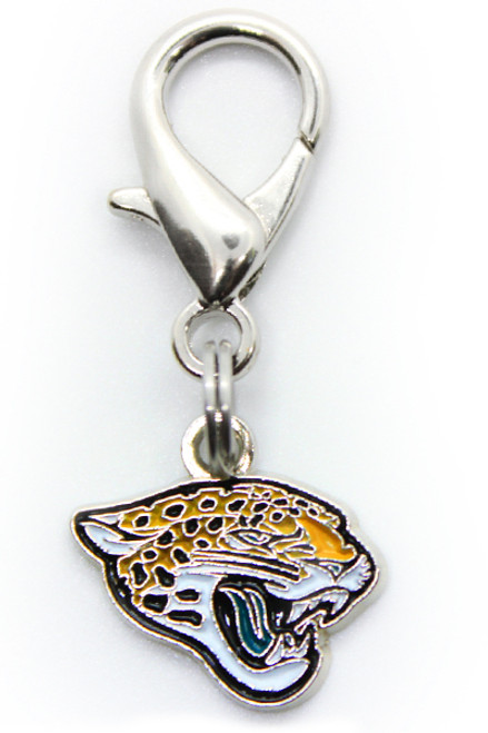 Jacksonville Jaguars Logo Dog Collar Charm - by Diva-Dog.com