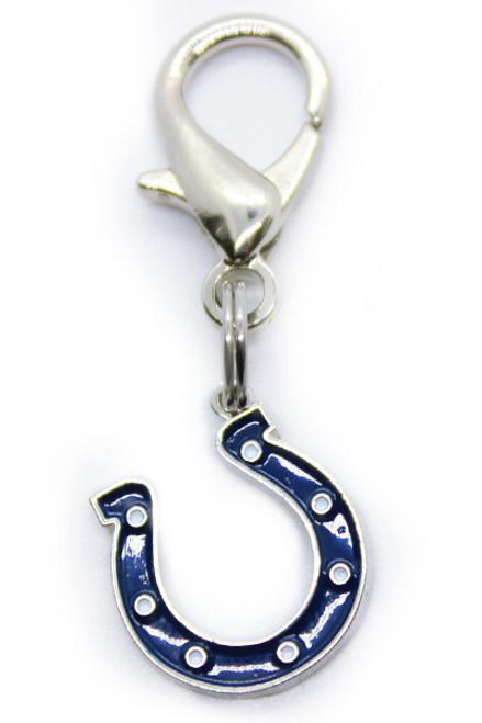 Indianapolis Colts Logo Dog Collar Charm - by Diva-Dog.com