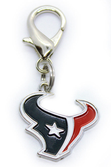 Houston Texans Logo Dog Collar Charm - by Diva-Dog.com