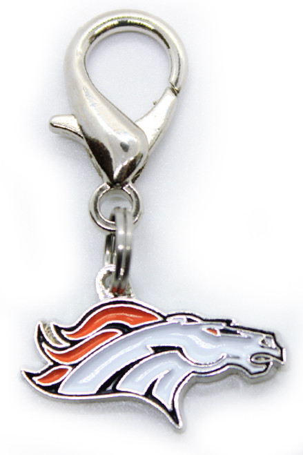 Denver Broncos Logo Charm - by Diva-Dog.com