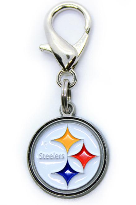 Pittsburgh Steelers Logo Charm - by Diva-Dog.com