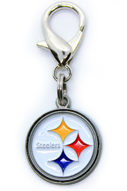 Pittsburgh Steelers Logo Charm - by Diva-Dog.com