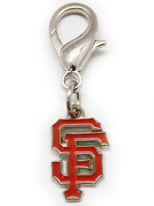 San Francisco Giants dog collar charm - by Diva-Dog.com