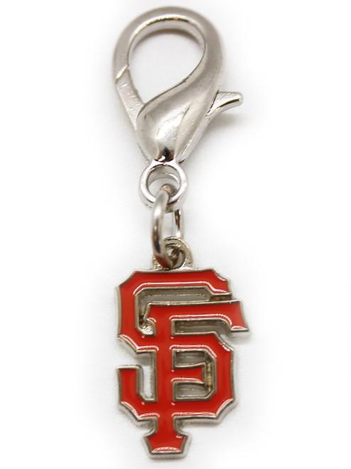 San Francisco Giants dog collar charm - by Diva-Dog.com