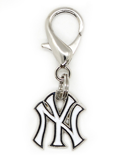 New York Yankees Logo Charm - by Diva-Dog.com