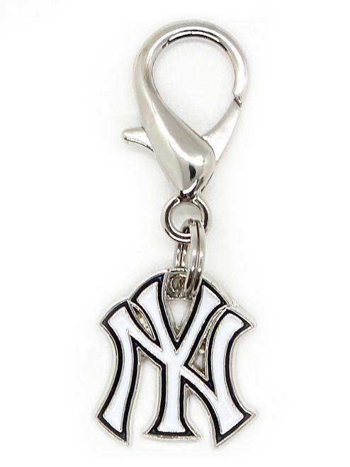New York Yankees Logo Charm - by Diva-Dog.com