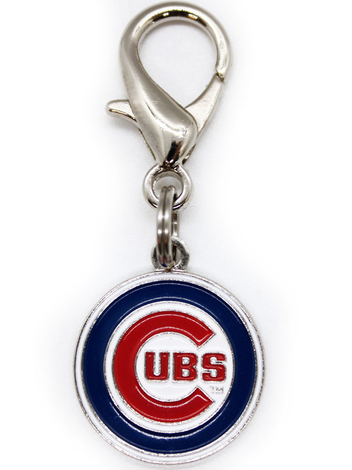 Chicago Cubs collar Charm - by Diva-Dog.com