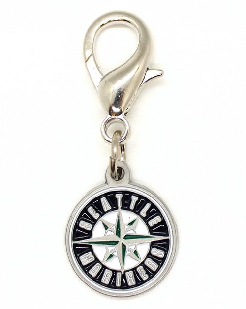 Seattle Mariners Logo collar Charm - by Diva-Dog.com
