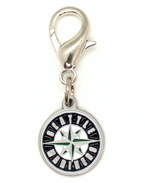 Seattle Mariners Logo collar Charm - by Diva-Dog.com