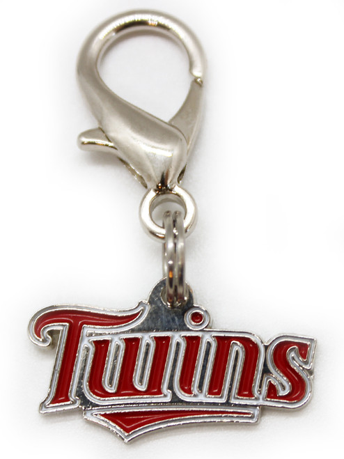 Minnesota Twins logo Charm - by Diva-Dog.com