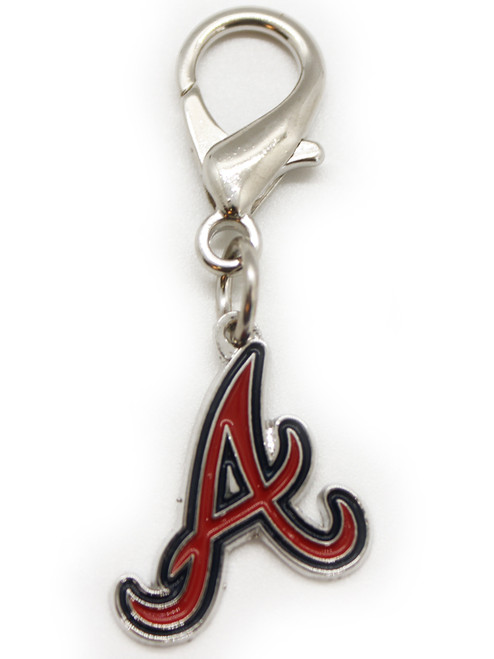 Atlanta Braves Dog Collar Charm - by Diva-Dog.com