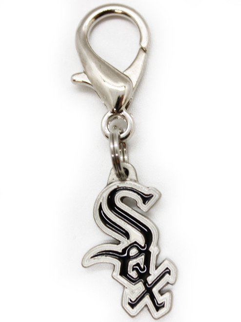 Chicago White Sox dog collar charm - by Diva-Dog.com