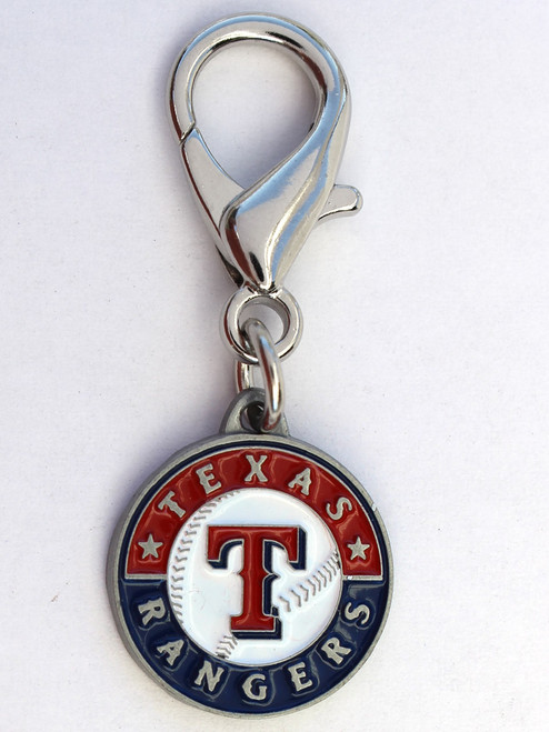 Texas Rangers Logo Charm - by Diva-Dog.com