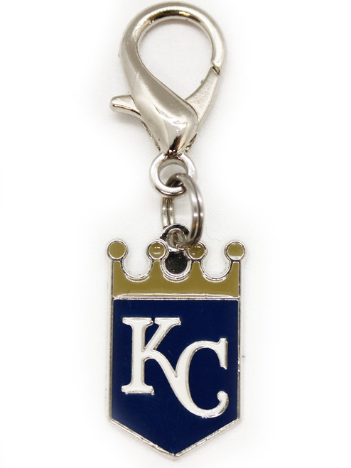 Kansas City Royals dog collar charm - by Diva-Dog.com