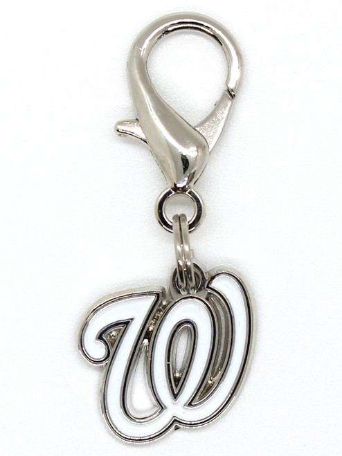 Washington Nationals Logo Charm - by Diva-Dog.com