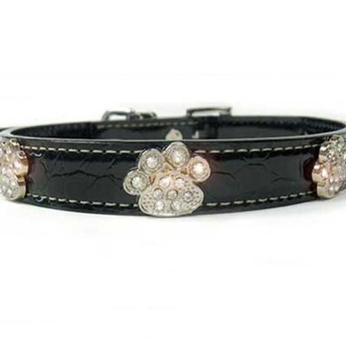 Bella Leather Dog Collar by Diva-Dog.com