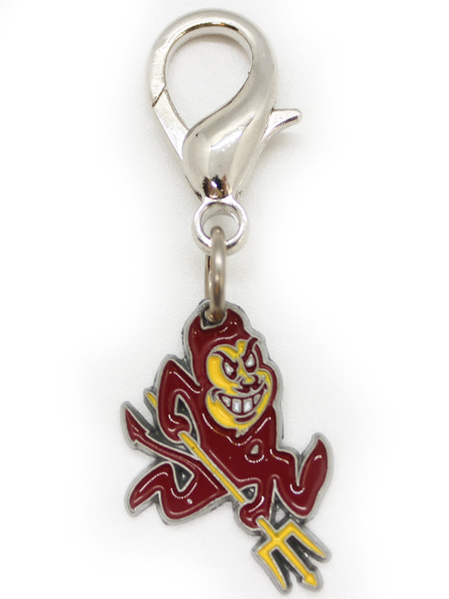 Arizona State Sun Devils dog collar charm by diva-dog.com
