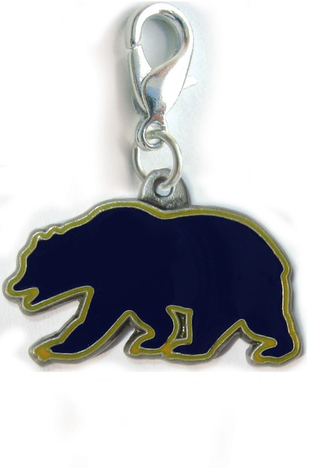Cal State Berkeley dog collar charm by diva-dog.com
