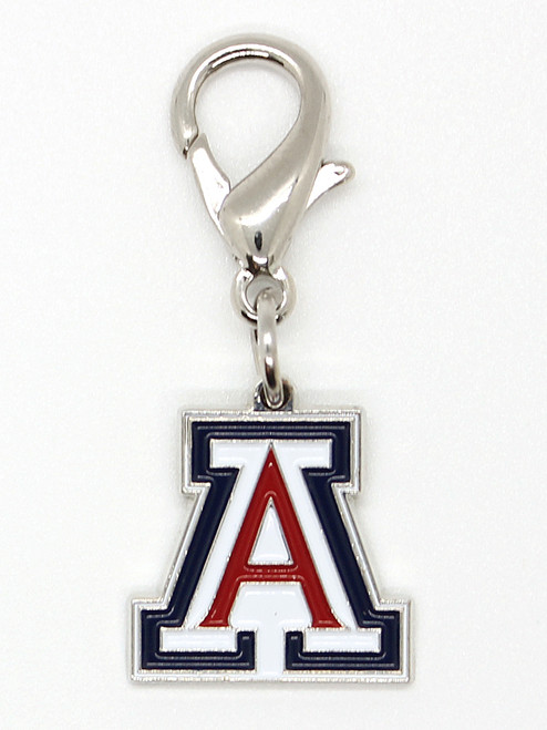 University of Arizona Wildcats collar Charm - by Diva-Dog.com
