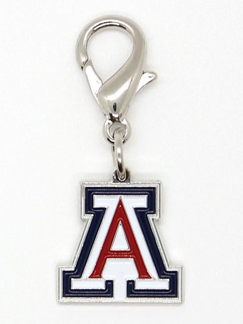 University of Arizona Wildcats collar Charm - by Diva-Dog.com