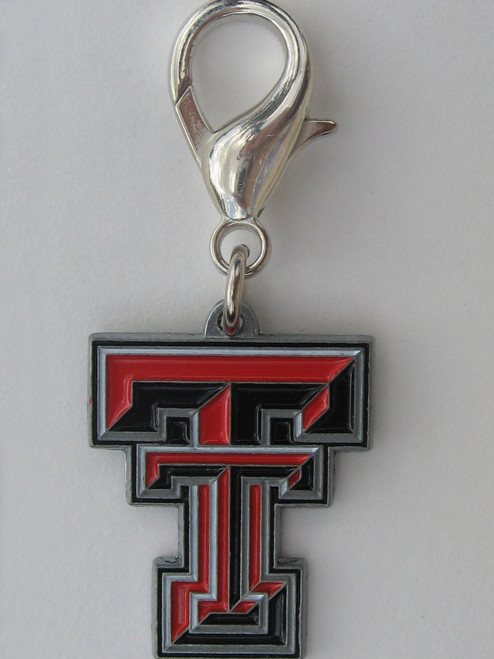 Texas Tech Raiders Collar Charm - by Diva-Dog.com