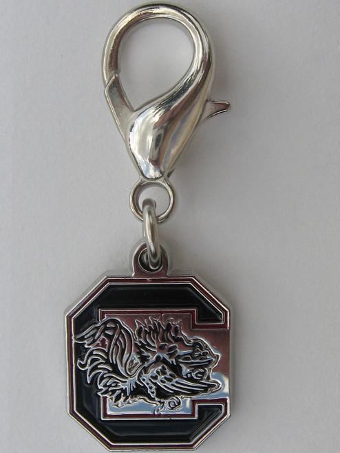 South Carolina Gamecocks Collar Charm - by Diva-Dog.com