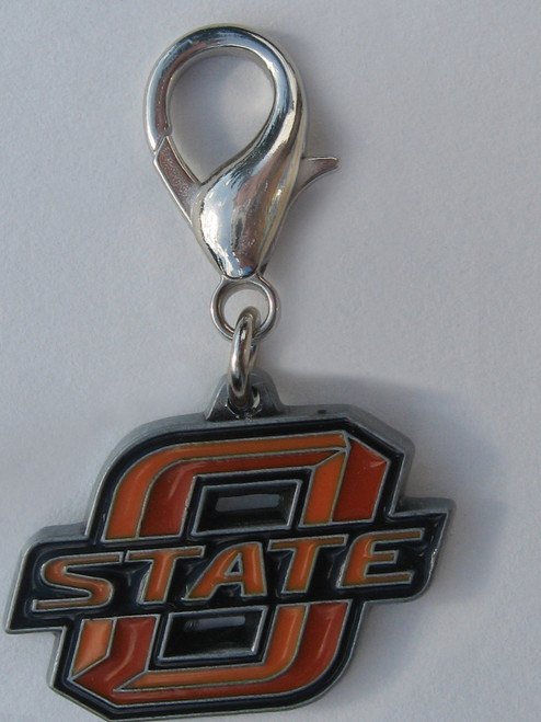 Oklahoma State Cowboys Dog Collar Charm - by Diva-Dog.com