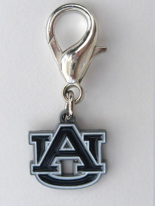 Auburn University Tigers dog collar charm by diva-dog.com