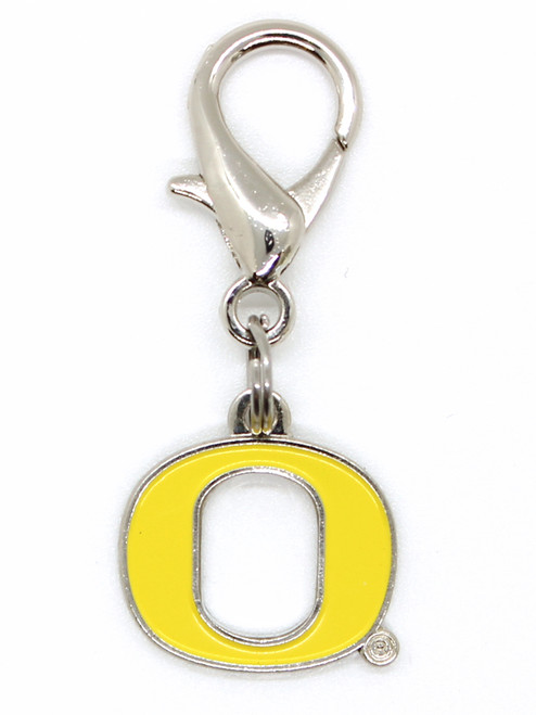 Oregon University Ducks collar Charm - by Diva-Dog.com