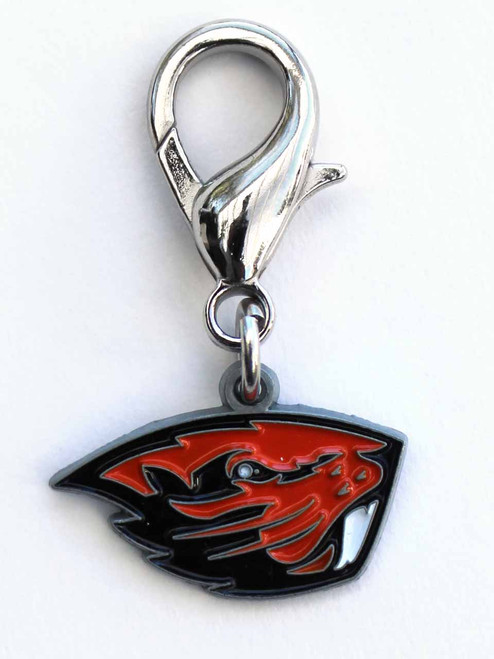 Oregon State Beavers Collar Charm - by Diva-Dog.com