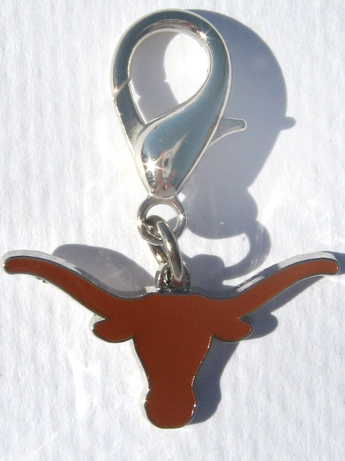 University of Texas Longhorns Collar Charm - by Diva-Dog.com
