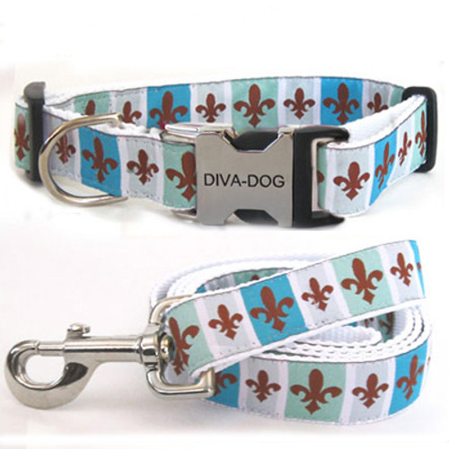 French Quarter Clearance Collar and Leash